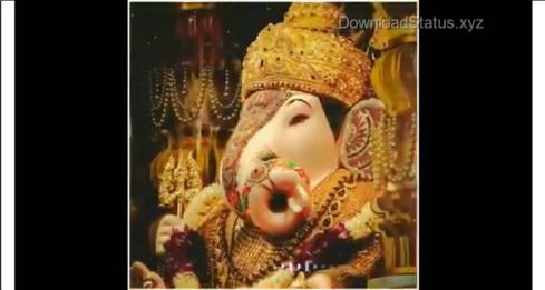 Sukh Karata Gukhaharta Vaarta Vighnaachee – Ganesh Vandana Whatsapp Status Video