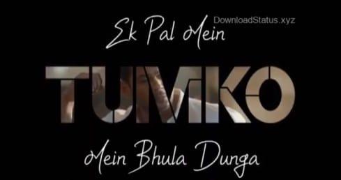 Pal Me Bhula Dunga Ft. Darshan Raval – Heart Broken Whatsapp Status Video